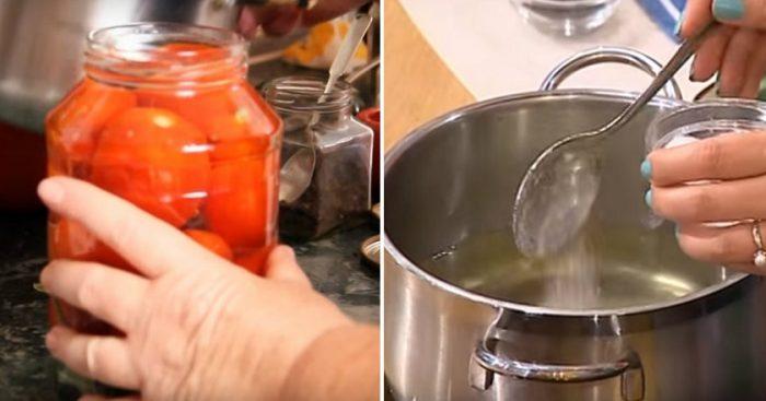 Recepte. Marinēti tomāti – viegli pagatavojami un garšīgi!