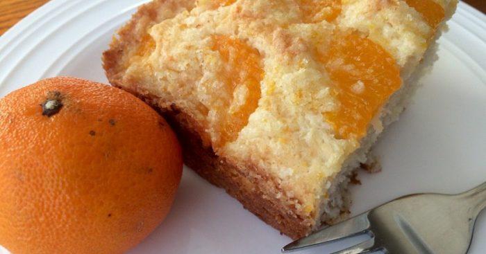 Recepte. Mandarīnu pīrāgs – bezgala aromātisks un gards!