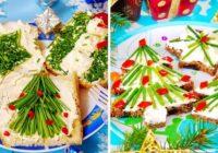 Uzkodas Ziemassvētku galdam – vienkārši, bet ļoti skaisti un garšīgi!