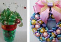 Fantastiskas dāvanas no konfektēm – derēs ikvienam!