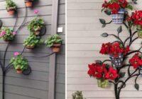 Stilīgas idejas mājām un dārzam – interesanti veidi, kā dekorēt ar ziediem