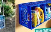 Interesanti un neparasti pielietojumi plastmasas kastēm