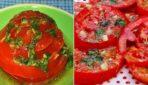 Ātrā marināde tomātiem. Gatavi 30 minūtēs