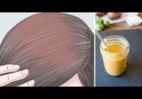 Recepte, kas dabiskā veidā atjaunos matu dabisko krāsu. Nē, sirmiem matiem!