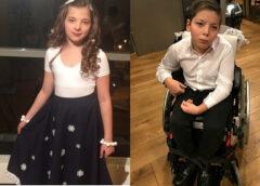 Bez mammas palikušajiem dvīņiem Ričardam un Keitai nepieciešama palīdzība ārstēšanās izdevumu apmaksai