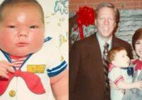 Zēns piedzima ar 7 kg svaru.  Kā viņš izskatās tagad, 36 gadu vecumā