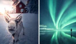 Daži elpu aizraujoši foto no Somijas, kuriem pateicoties Jūs nokļūsiet pasakā