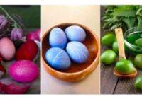 Gatavojamies Lieldienām: dabīgās olu krāsas