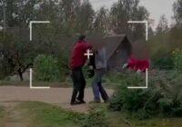 VIDEO: Magones vīrs Žanis izkaujas ar kaimiņu