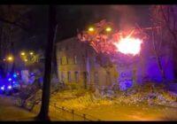 VIDEO: Sprādziens Āgenskalnā, ir viens bojāgājušais