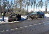 Avārija Kurzemē, kurā ir divi bojāgājušie. Šausminoši skati!!!!