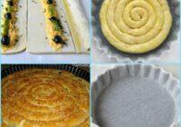FOTORECEPTE: Kārtainās mīklas pīrāgs lauku stilā