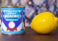 Tev vajadzēs iebiezinātā piena bundžiņu un 1 citronu – iznāks gards krēms