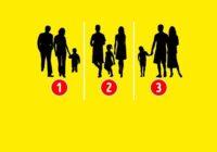 Psiholoģiskais tests: kura no šīm fotogrāfijām neatspoguļo īstu ģimeni?